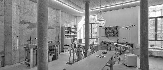Atelier Malzsilo 2. Stock